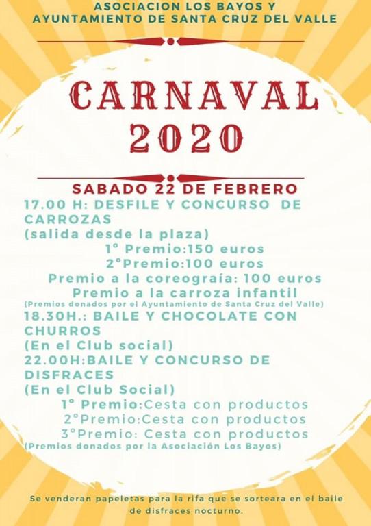 Carnaval 2020 Santa Cruz del Valle - TiétarTeVe