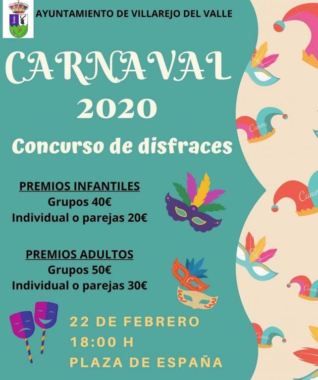 Carnaval 2020 en Villarejo del Valle - TiétarTeVe