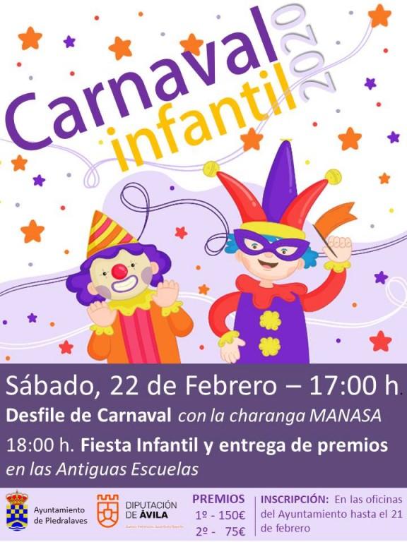 Carnaval Infantil 2020 en Piedralaves - TiétarTeVe