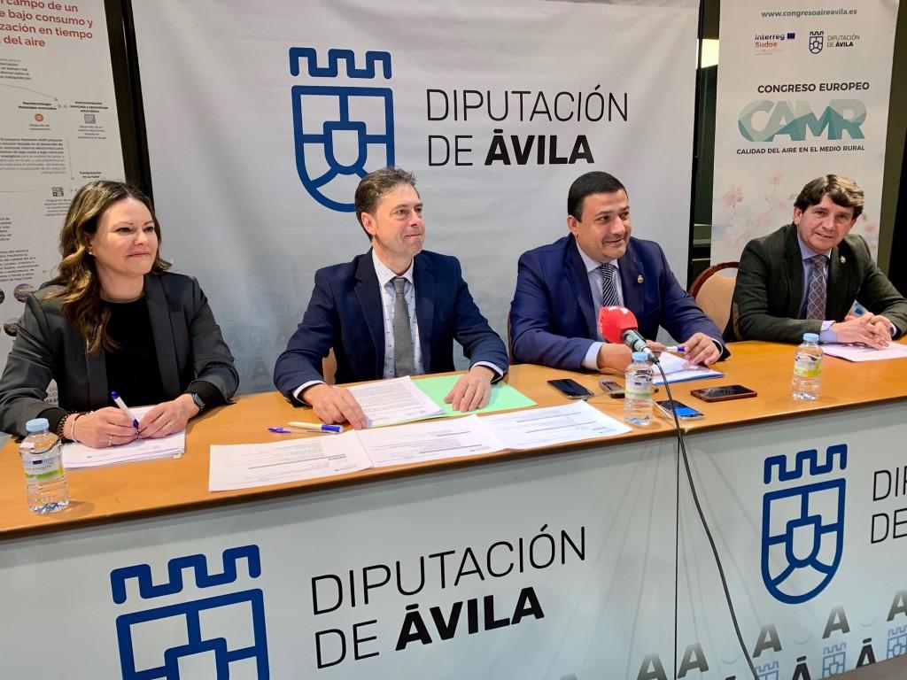 Presentación Congreso Aire Arenas de San Pedro - TiétarTeVe