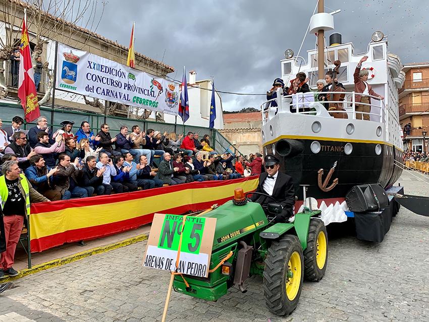 Carnaval Provincial 2020 de Cebreros - TiétarTeVe