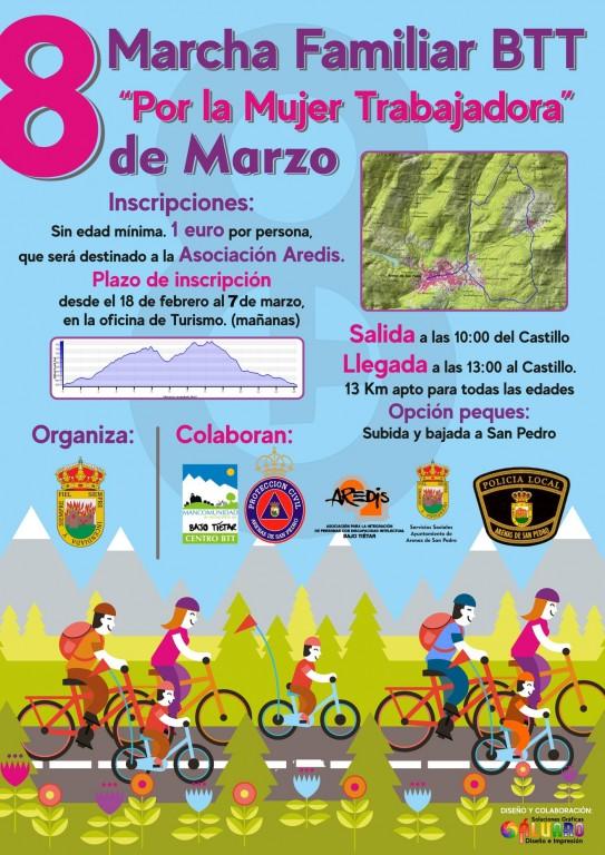 Día Internacional de la Mujer 2020 - Arenas de San Pedro - TiétarTeVe