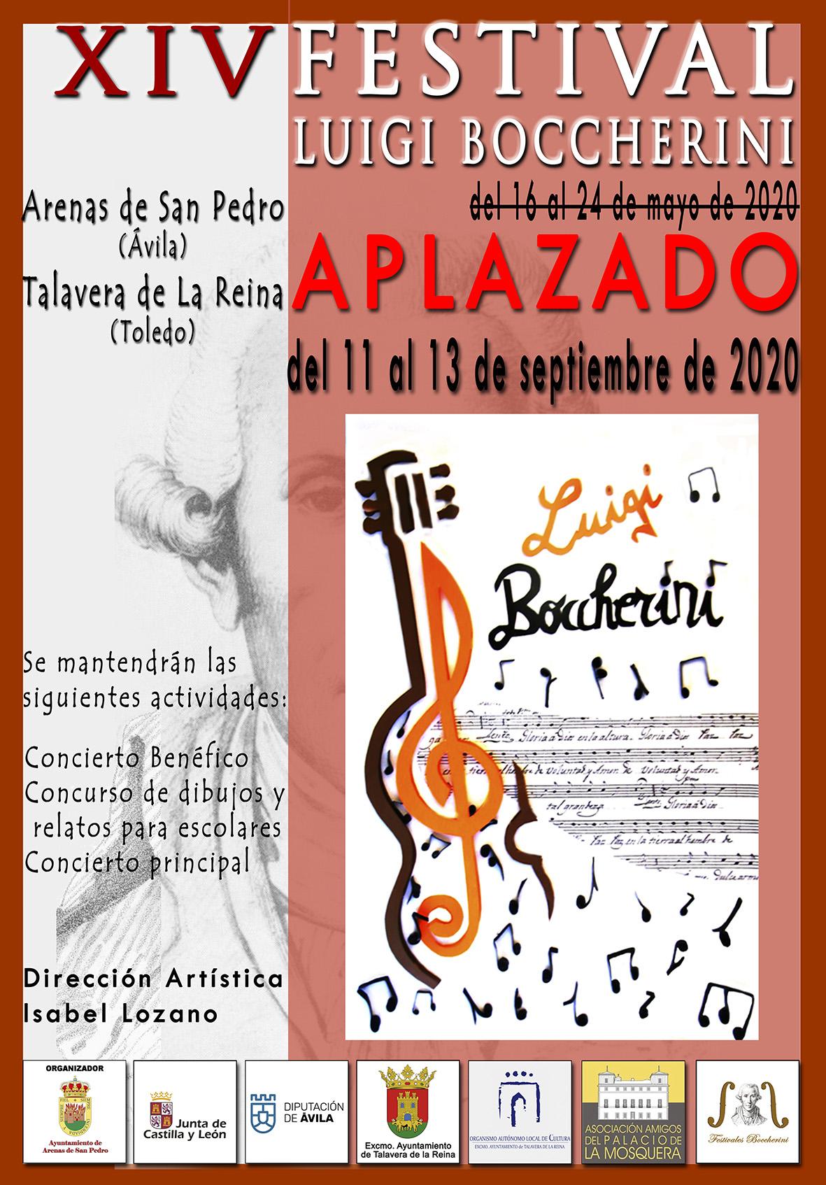 XIV Festival Boccherini 2020 APLAZADO - TiétarTeVe