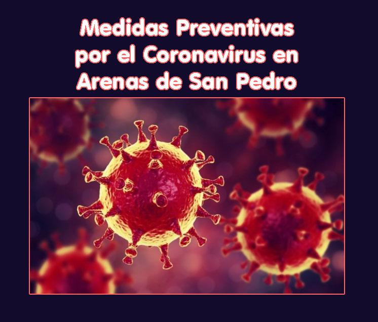 Medidas Preventivas por el Coronavirus en Arenas de San Pedro - TiétarTeVe