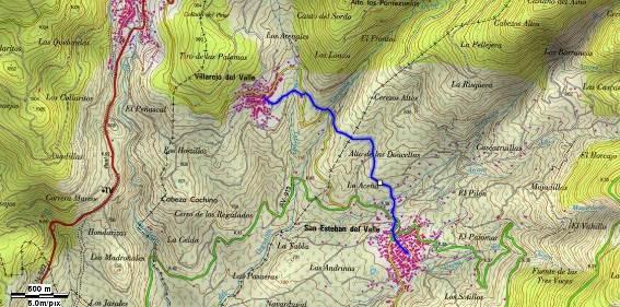 GR-293 - Etapa 5 Tramo 10 Mapa Localización - TiétarTeVe