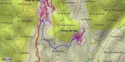 GR-293 - Etapa 5 Tramo 11 - Mapa Localización - TiétarTeVe