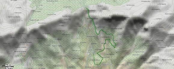 GR-293 - Etapa 5 Tramo 12 BTT - Mapa Localización - TiétarTeVe