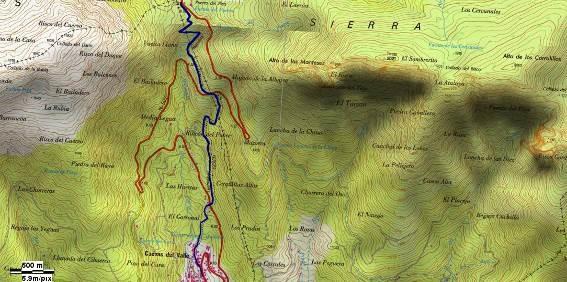 GR-293 - Etapa 5 Tramo 12 - Mapa Localización - TiétarTeVe