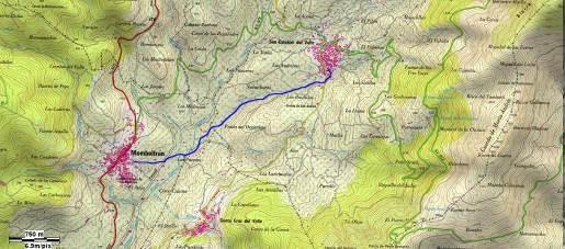 GR-293 Etapa 5 Tramo 9 Mapa Localización - TiétarTeVe