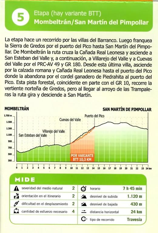 GR293 - A Vueltas Con Gredos (Etapa5) - TiétarTeVe