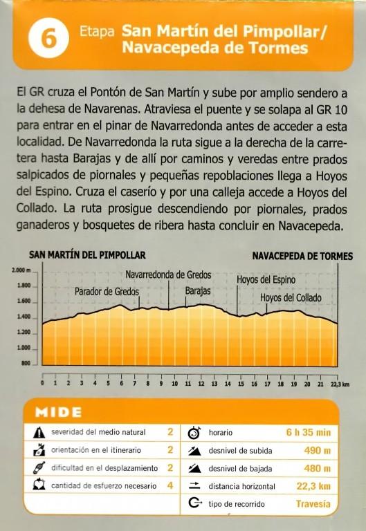 GR293 - A Vueltas Con Gredos (Etapa 6) - TiétarTeVe