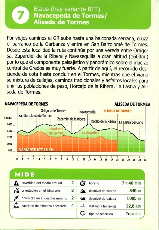 GR293 - A Vueltas Con Gredos (Etapa 7) - TiétarTeVe