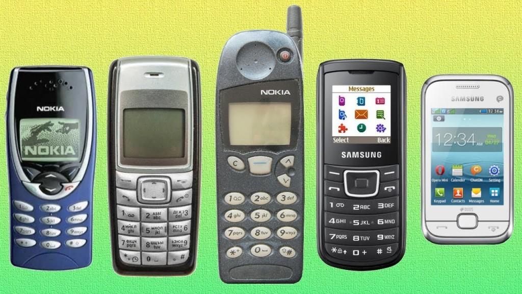 Teléfonos móviles antiguos - TiétarTeVe