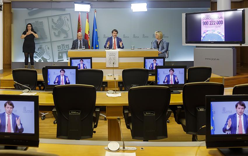 Consejo Gobierno - Junta de Castilla y León - Coronavirus - TiétarTeVe