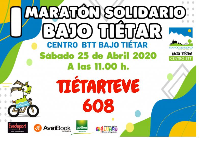 2020-04-25 Dorsal Maratón Bajo Tiétar TietarTeVe - TiétarTeVe