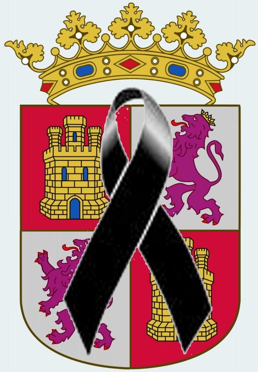 Escudo Castilla y León y luto oficial - COVID-19 - TiétarTeVe