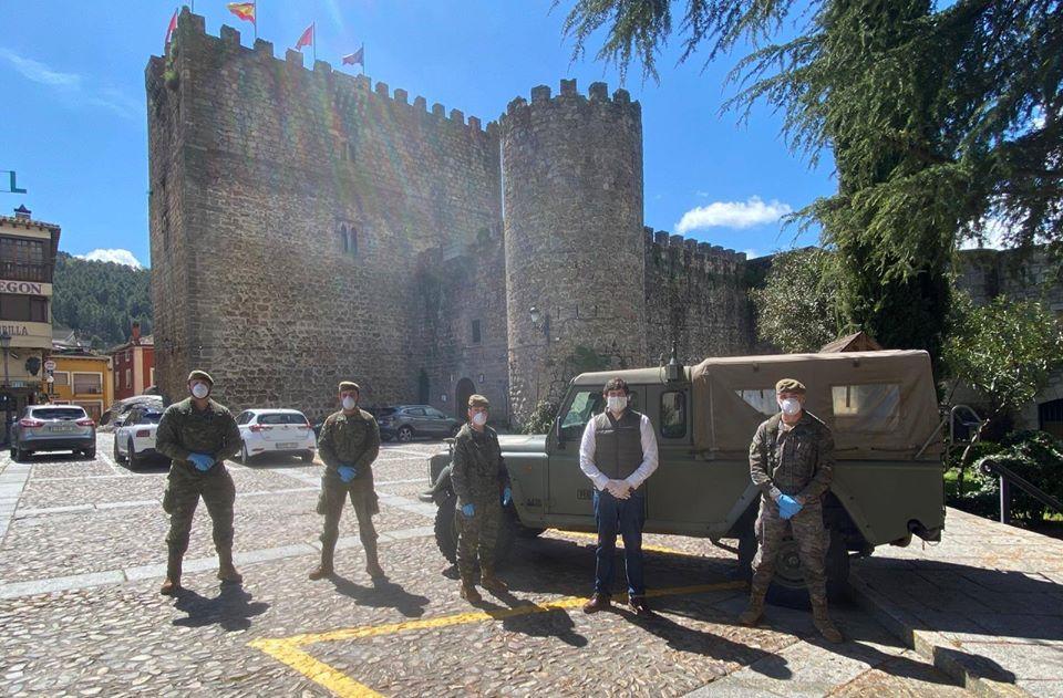 Ejército de Tierra en Arenas de San Pedro - Estado de Alarma - TiétarTeVe