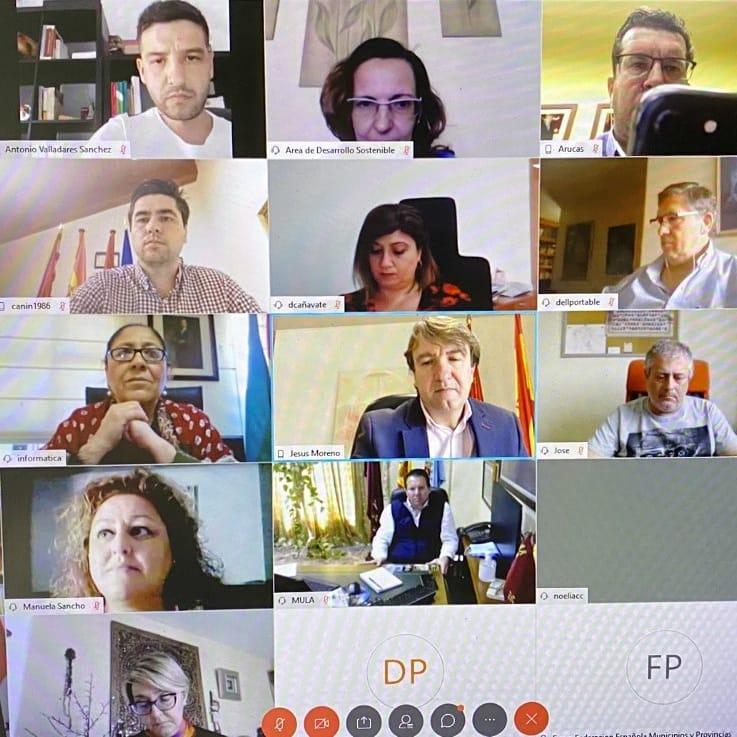 Reunión Virtual Federacion Municipios y Provincias - TiétarTeVe