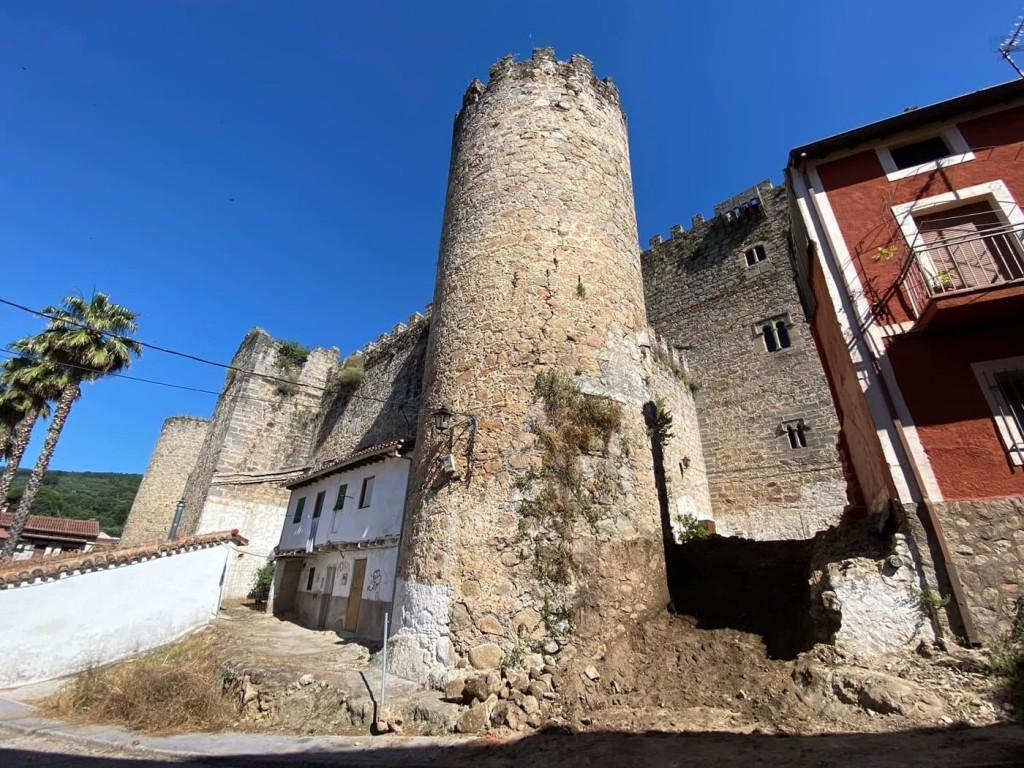 Obras Castillo del Condestable Dávalos - Arenas de San Pedro - TiétarTeVe