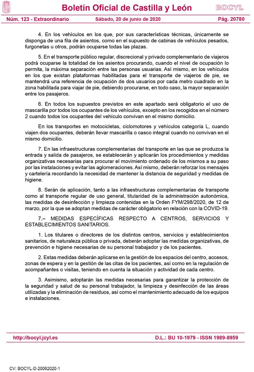 BOCyL n.º 123, 20 de junio de 2020 - Disp. 001
