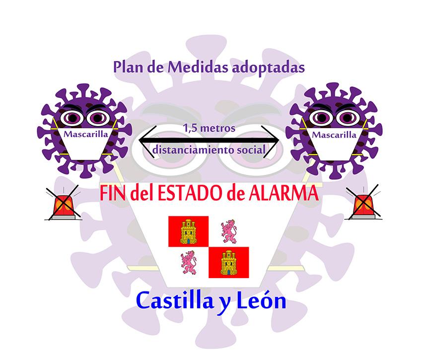 Plan de Medidas adoptacas en CyL por el Fin del Estado de Alarma - TiétarTeVe
