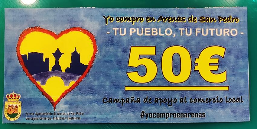 Cheque Regalo Ayuntamiento de Arenas de San Pedro - TiétarTeVe