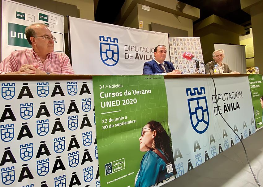 Presentación Cursos de Verano 2020 UNED - Ávila - TiétarTeVe