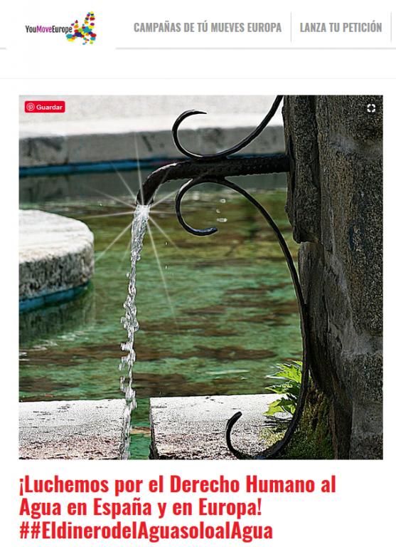 Derecho al agua La Adrada - TiétarTeVe