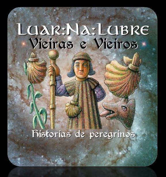 """Luar Na lubre - Portada CD """"Vieiras e Vieiros: historias de peregrinos"""" - TiétarTeVe"""