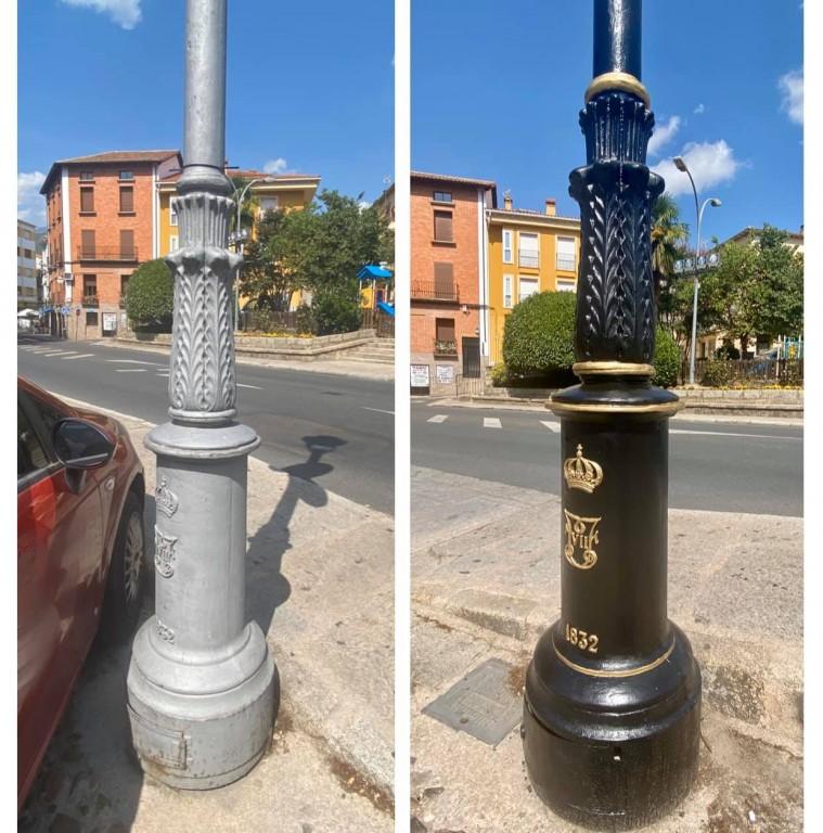 Farolas Fernandinas Arenas de San Pedro - TiétarTeVe
