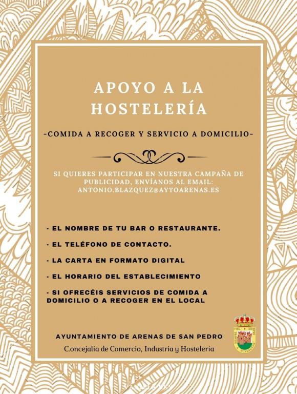 2020-11-06 Apoyo hostelería Arenas de San Pedro - TiétarTeVe