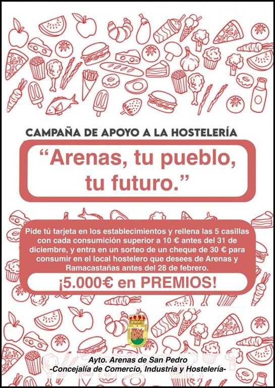 2020-11-20 Apoyo Hostelería Arenas de San Pedro - TiétarTeVe