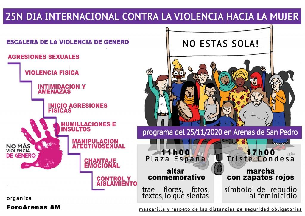 2020-11-25 Dia Mujer Arenas de San Pedro - TiétarTeVe