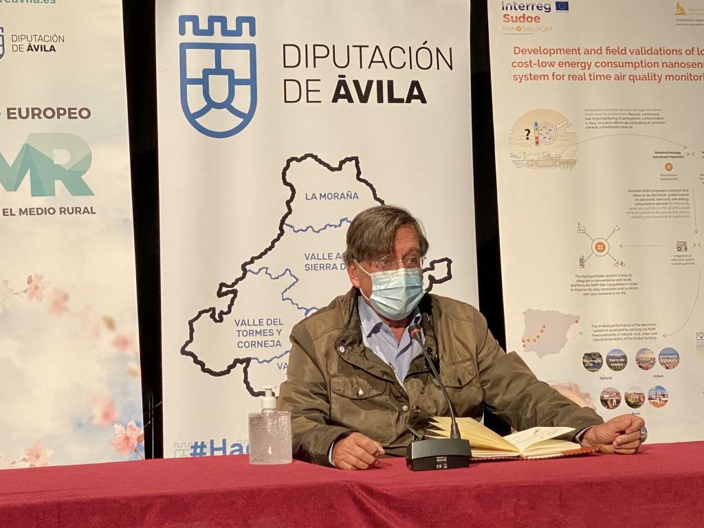 20201009 _clausura Congreso Calidad del Aire - Arenas de San Pedro - TiétarTeVe