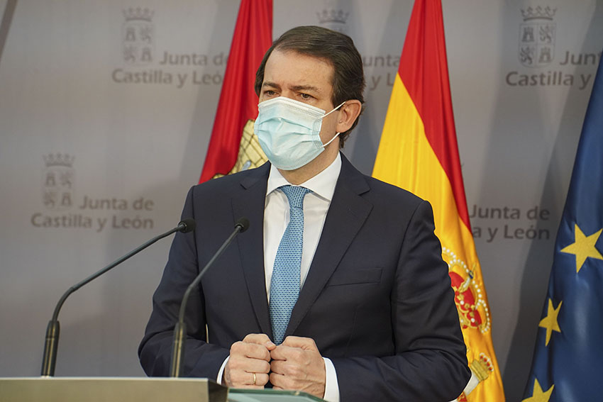 Presidente de Castilla y León - TiétarTeVe