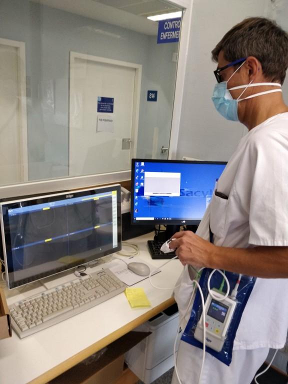 2020-12-10 Unidad de Cuidados Respiratorios Intermedios Ávila - TiétarTeVe