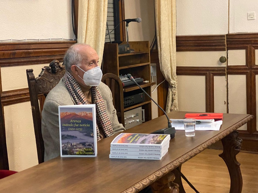 2020-12-17 Presentación Libro José David de La Fuente - TiétarTeVe