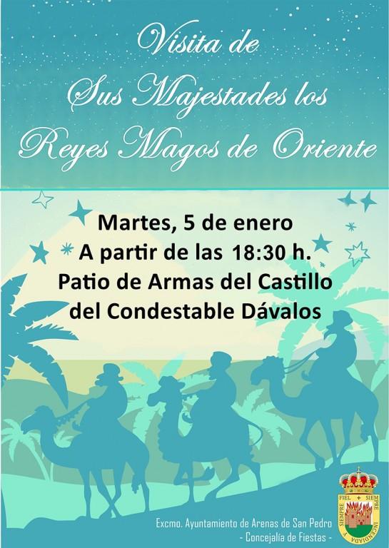 2021-01-05 Reyes Magos Arenas de San Pedro - TiétarTeVe