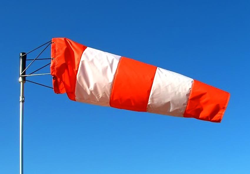 Alerta por viento