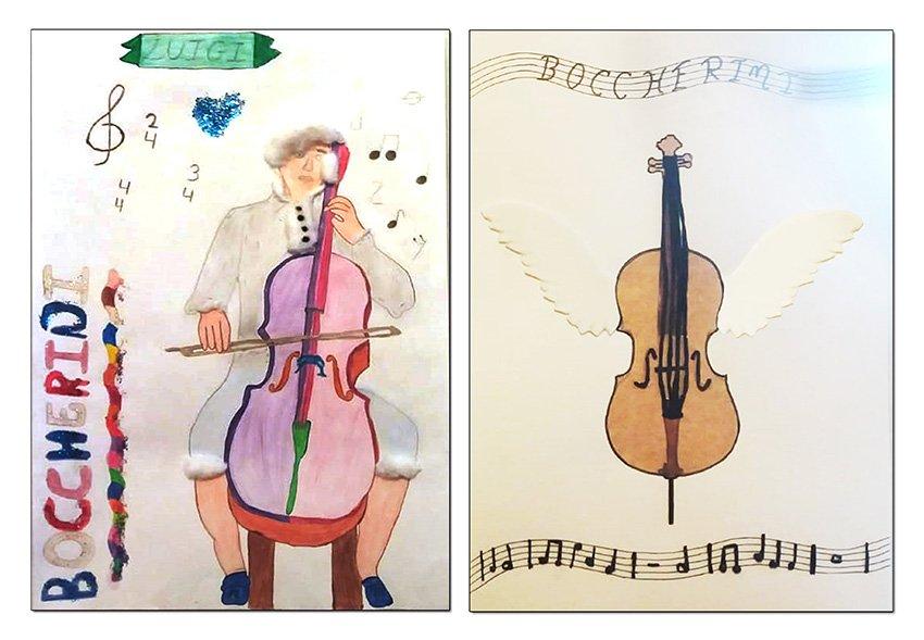 XIII Festivales Boccherini - Dibujos escolares
