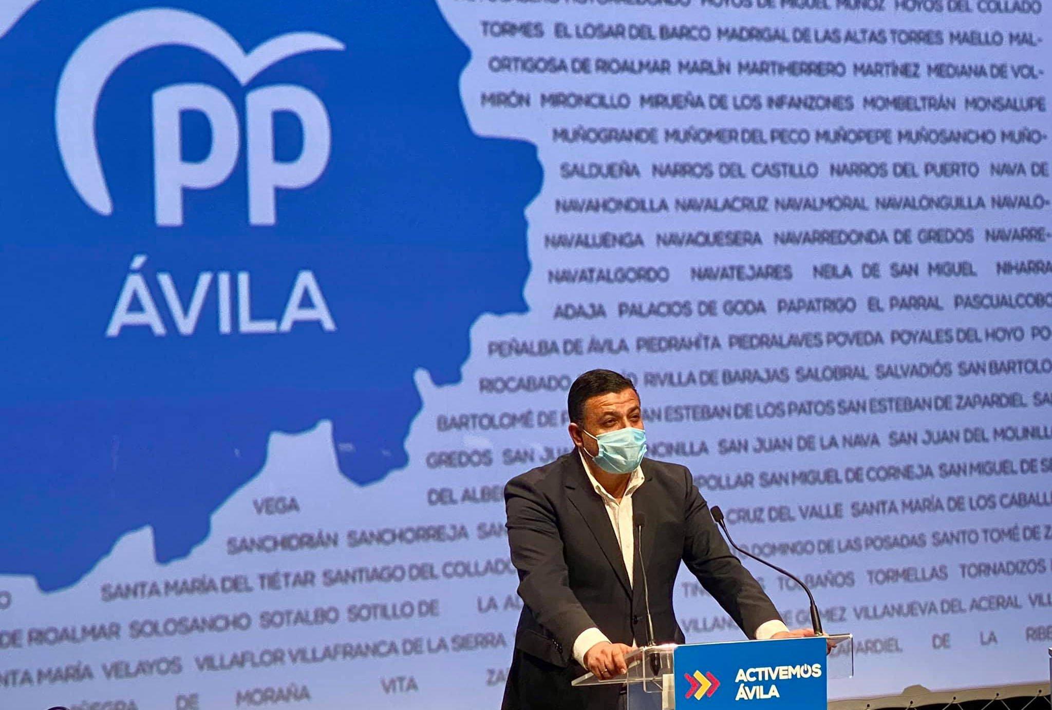 Carlos García González Presidente del Partido Popular de Ávila