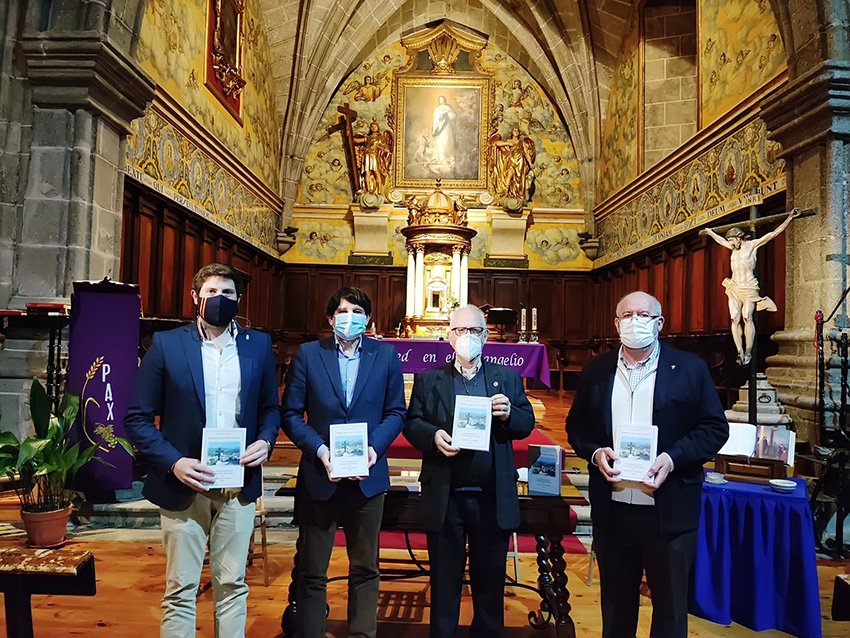 Presentación del Libro de Lucidio Sánchez Ortigosa en Arenas de San Pedro