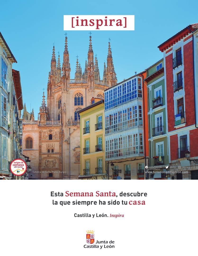 Esta Semana Santa descubre la que siempre ha sido tu casa - JCyL - Burgos