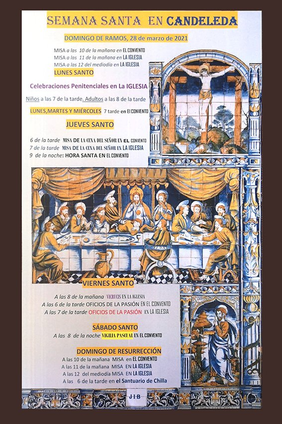 Programa de la Semana Santa 2021 en Candeleda