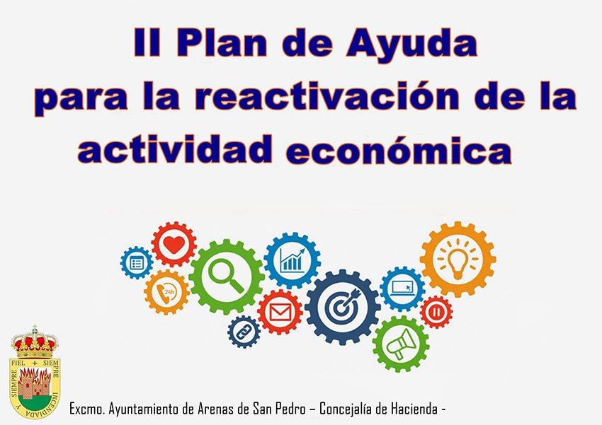 II Plan de Ayuda para la reactivación de la actividad económica - Ayuntamiento de Arenas de San Pedro