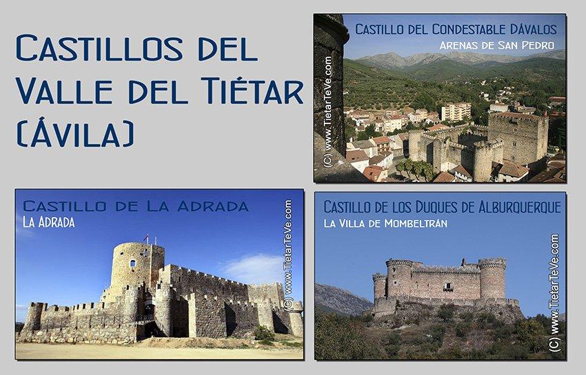 Castillos del Valle del Tiétar - Ávila