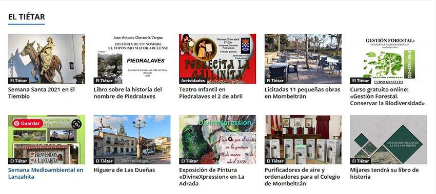 Categoría El Tiétar en TiétarTeVe.com
