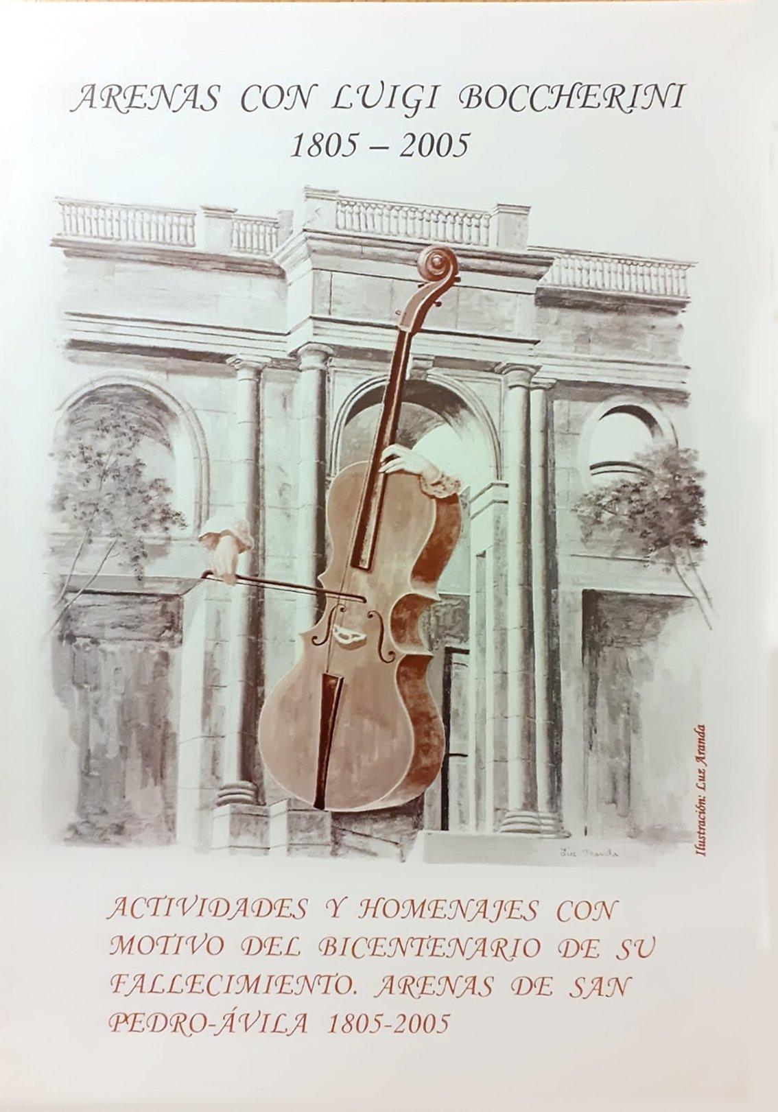 Cartel del Bicentenario del Fallecimiento de Luigi Boccherini - Arenas de San Pedro - 2005