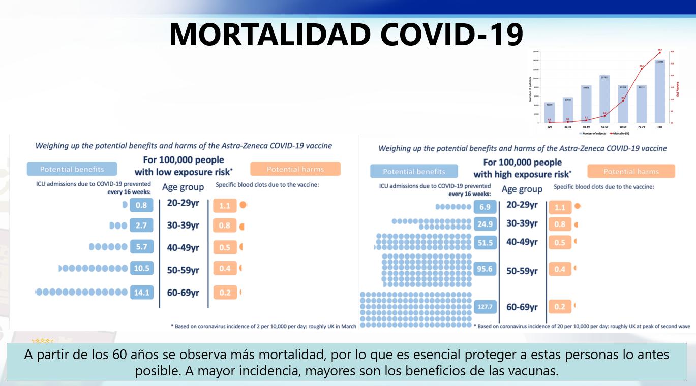 Mortalidad COVID-19 en Castilla y León
