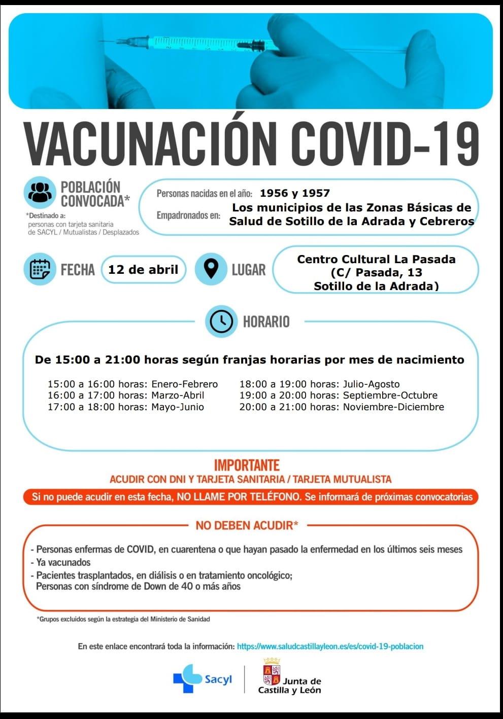 Vacunación en Sotillo